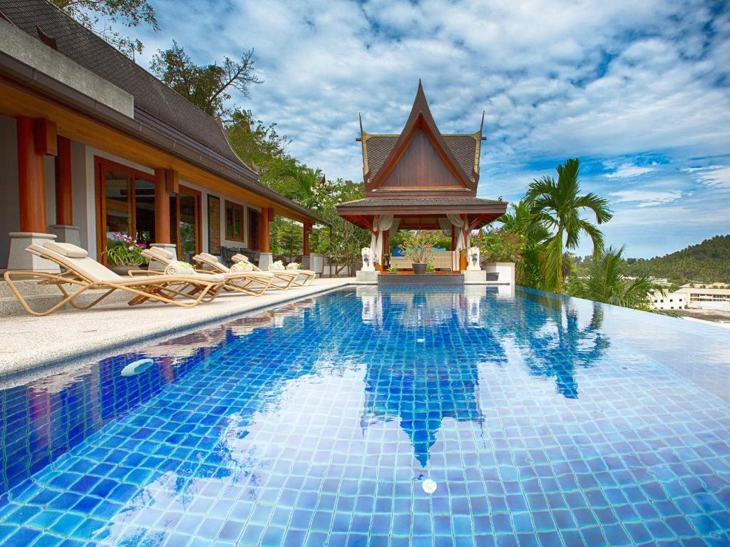 The swimming pool at or near Baan Surin Sawan - an elite haven