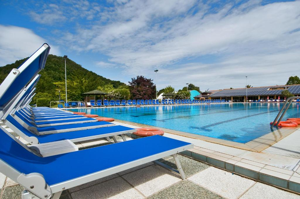 The swimming pool at or near Hotel Petrarca Terme