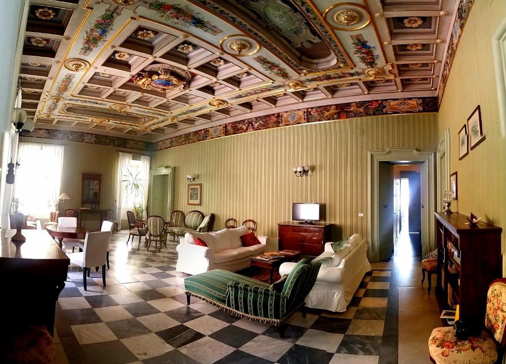 Area soggiorno di Resort a Palazzo