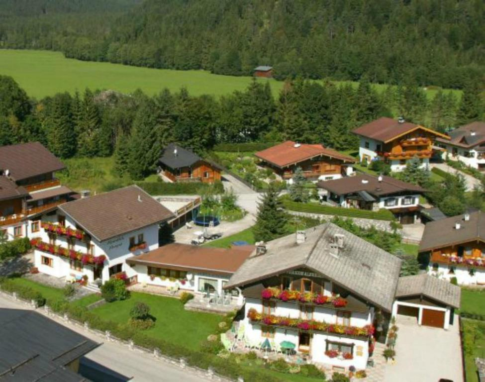 A bird's-eye view of Haus Alpenblick