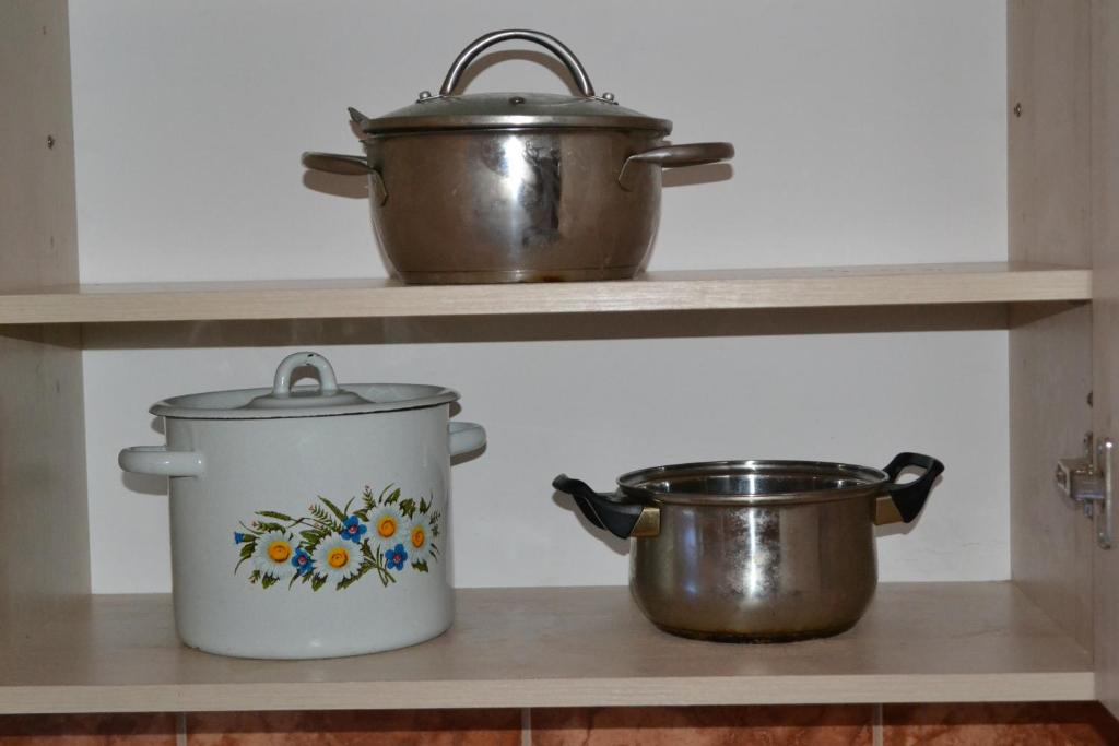Кухня или мини-кухня в Хостел Тулка