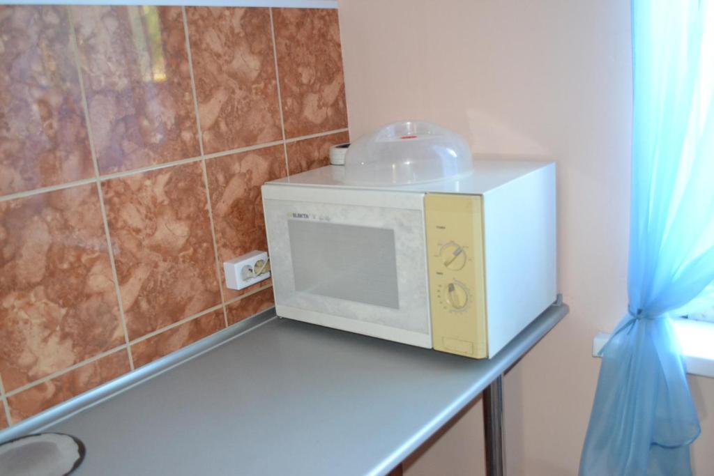A bathroom at Hostel Tulka