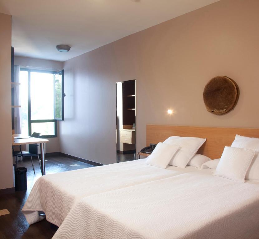 Cama o camas de una habitación en Olarain