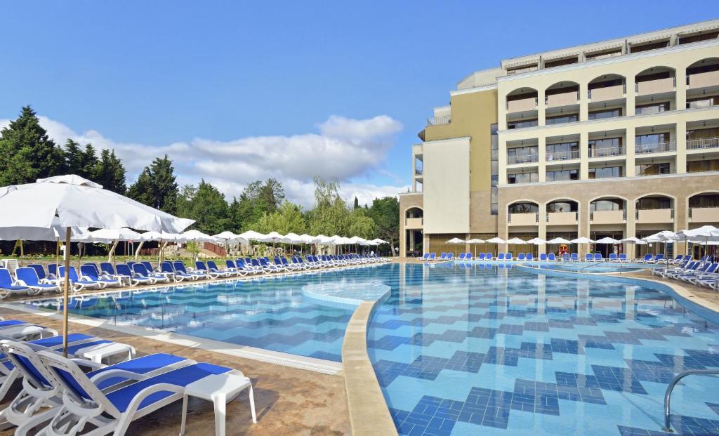 The swimming pool at or near Sol Nessebar Bay Resort & Aquapark - All inclusive
