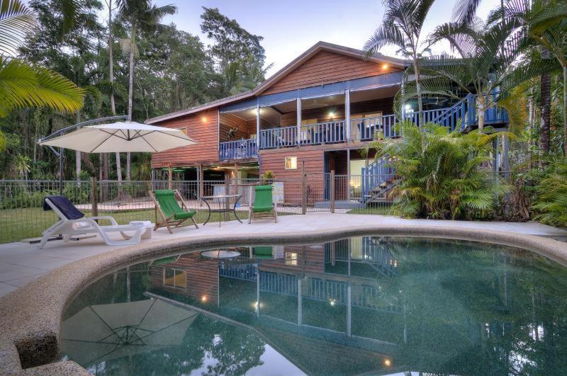 The swimming pool at or near Daintree Village Hideaway