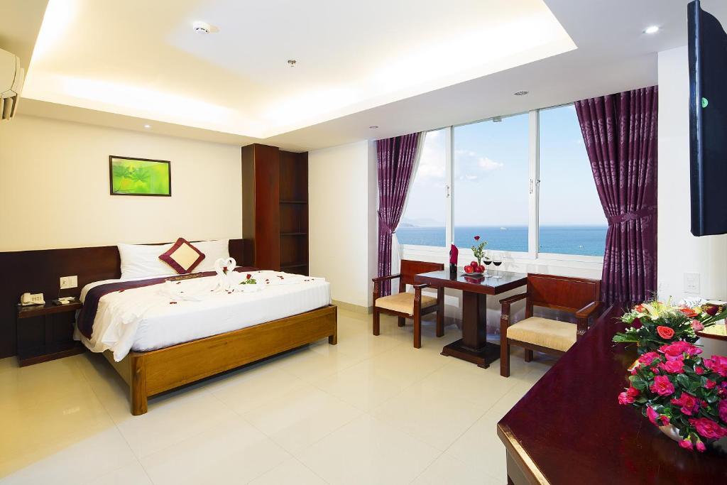 Phòng Executive Giường Đôi Nhìn Ra Biển