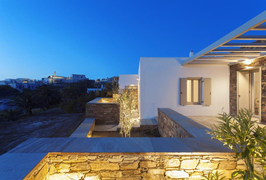 The swimming pool at or close to White Tinos Luxury Suites