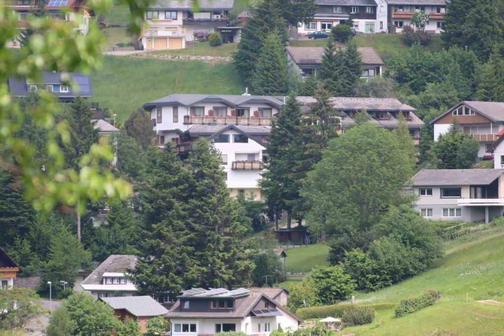 A bird's-eye view of Bergvital Hotel