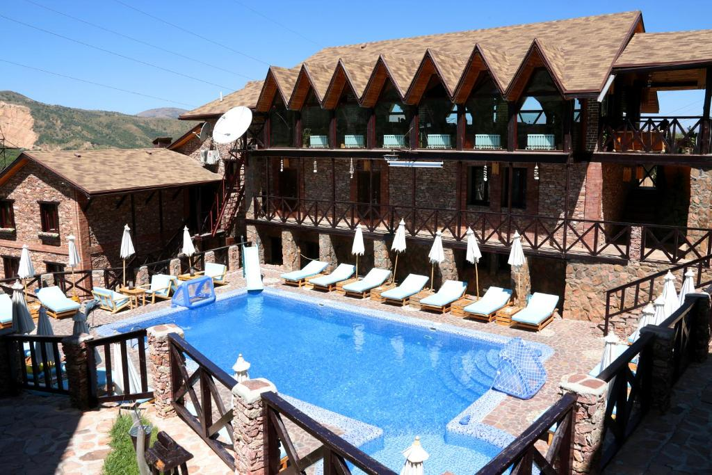 The swimming pool at or near Nebesa Guest House