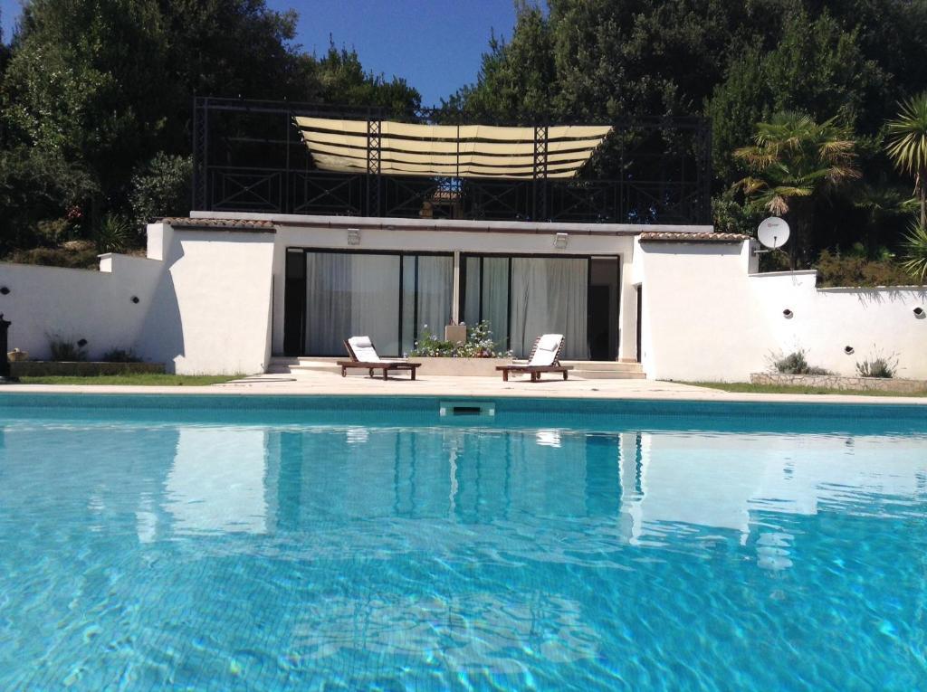 The swimming pool at or near Villa Isabella