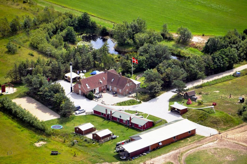 A bird's-eye view of Krywilygaard Holiday Apartments