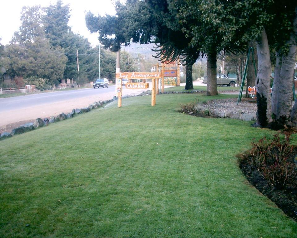 Un jardín fuera de Complejo Los Arrayanes