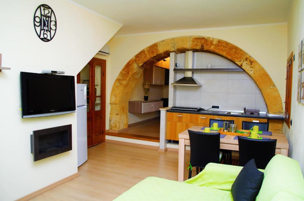 A kitchen or kitchenette at Appartamento San Giovanni