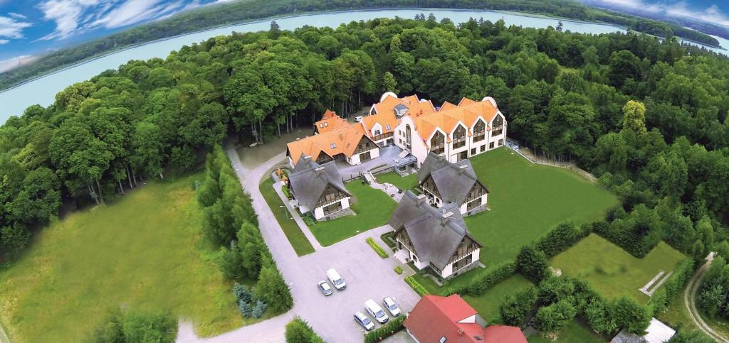 Widok z lotu ptaka na obiekt Hotel Aubrecht Country Spa Resort