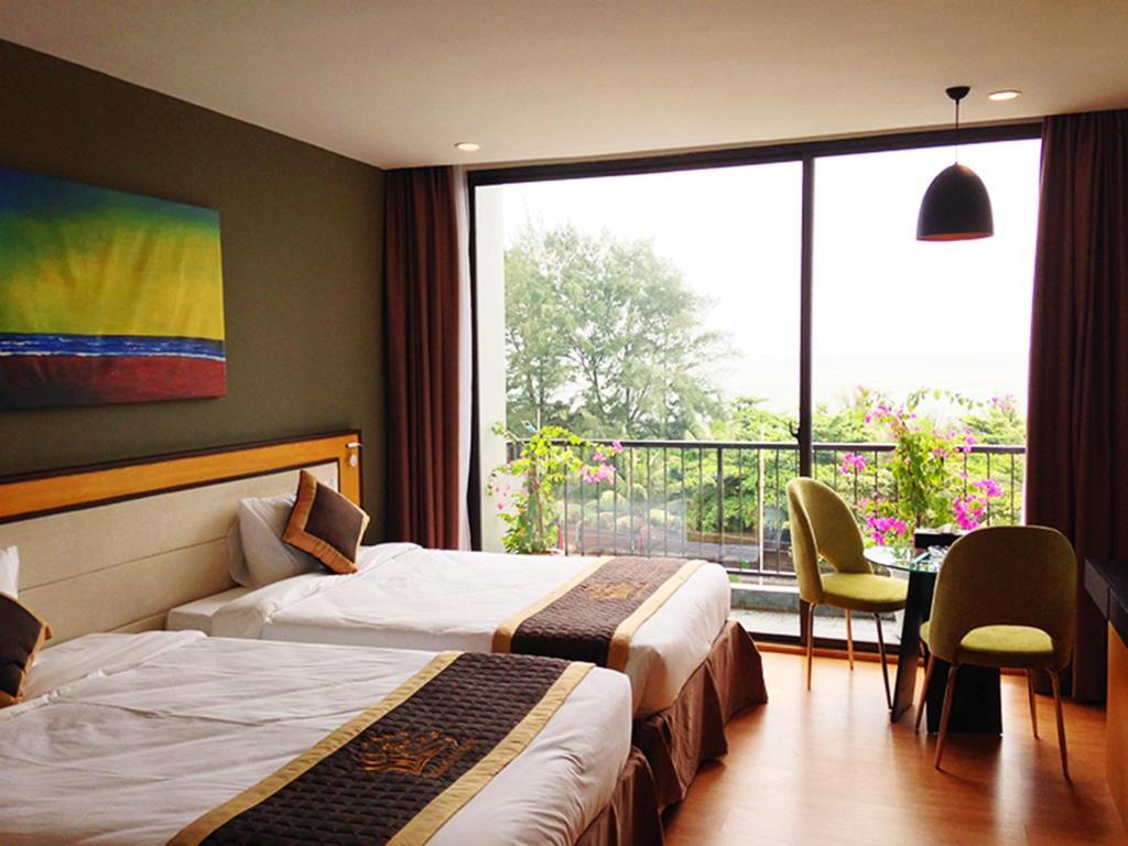 Phòng Studio 2 Giường đơn Nhìn ra Biển
