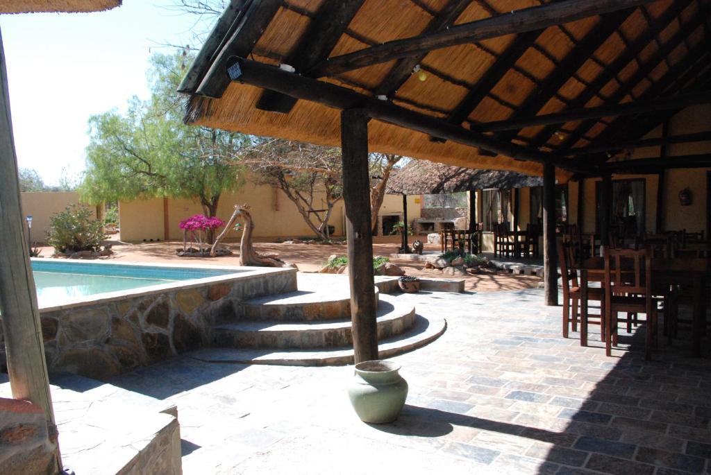 The swimming pool at or near Oppi-Koppi Rest Camp