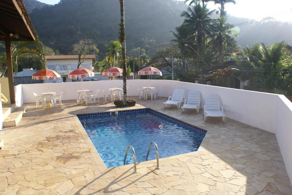 A piscina localizada em Pousada A Cor Do Sol ou nos arredores