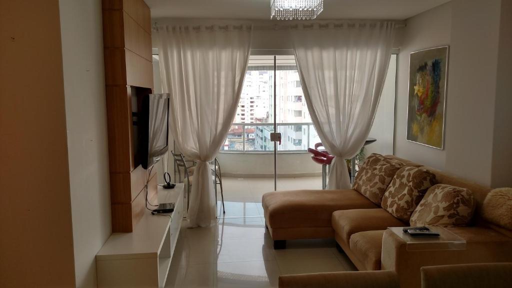 A seating area at Apartamento Dalpiaz