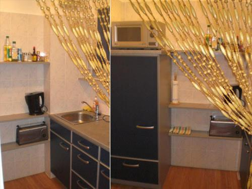 Küche/Küchenzeile in der Unterkunft Apartment Nannerl