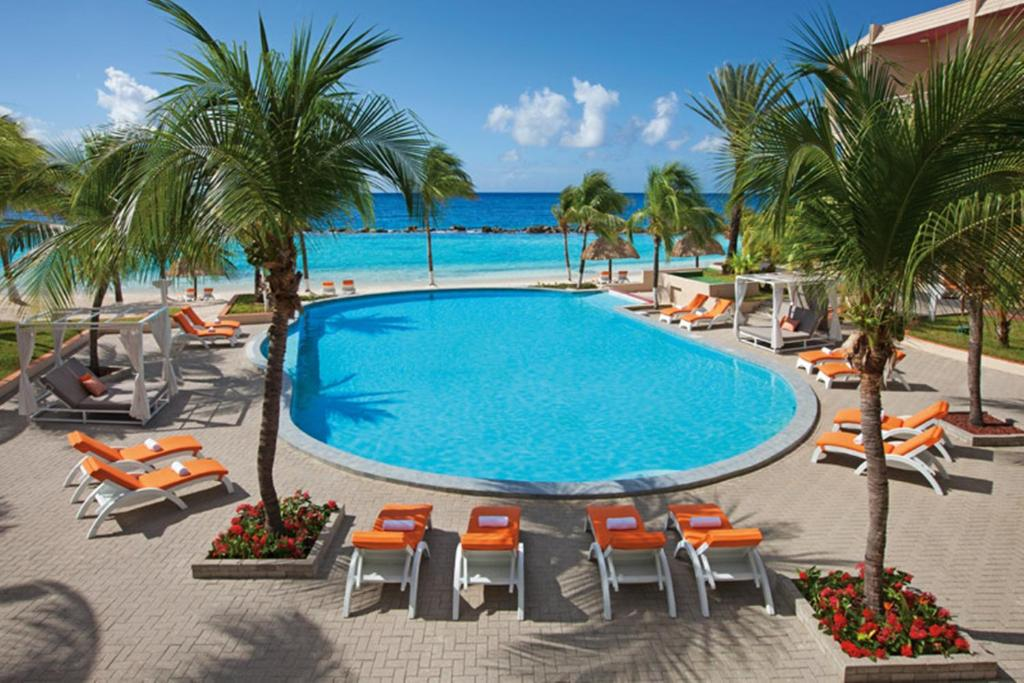 The swimming pool at or near Sunscape Curacao Resort Spa & Casino All Inclusive