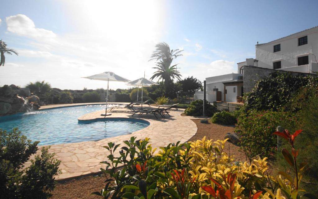The swimming pool at or near Agroturismo Son Juaneda