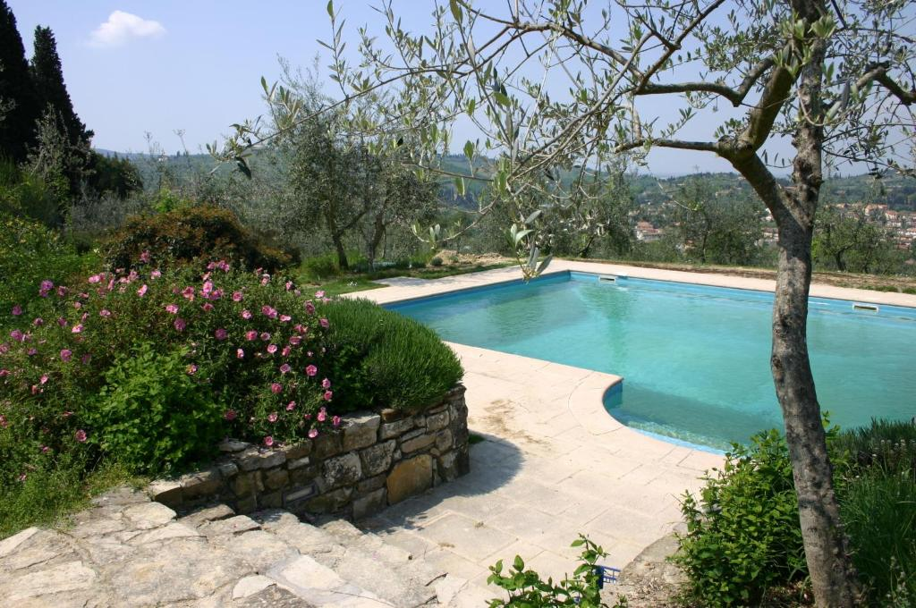 The swimming pool at or close to I Parigi Corbinelli Residenze