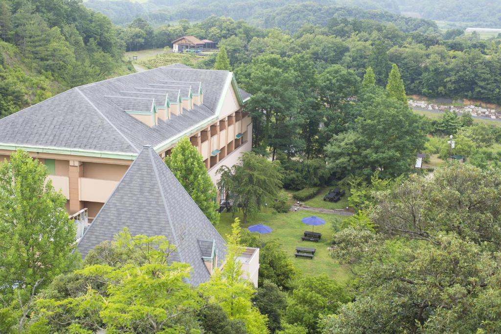 A bird's-eye view of Hotel Tango Kingdom