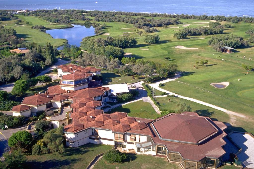 A bird's-eye view of Albarella Golf Hotel