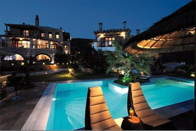 A view of the pool at Iakovakis Suites & Spa or nearby