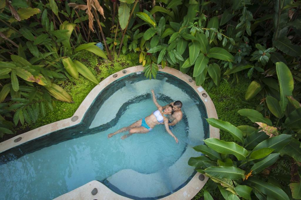 Vista de la piscina de Casa Luna Hotel & Spa o alrededores