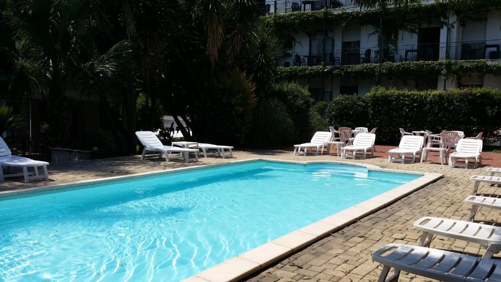 The swimming pool at or near Hotel Giardino d'Europa
