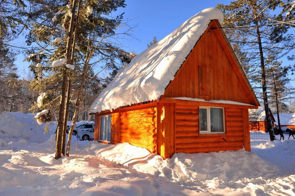 Вепское Поместье зимой