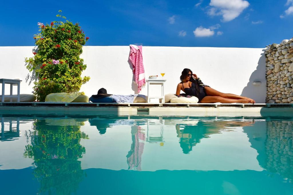 The swimming pool at or close to Aphrodite Boutique Hotel