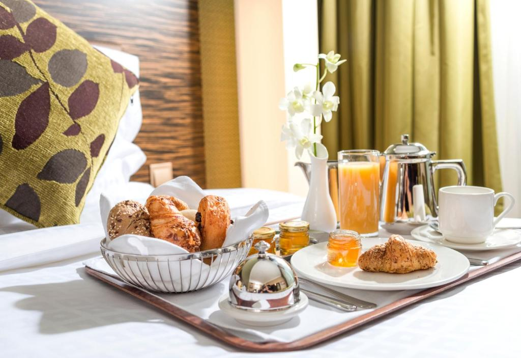 Breakfast options available to guests at Atana Hotel