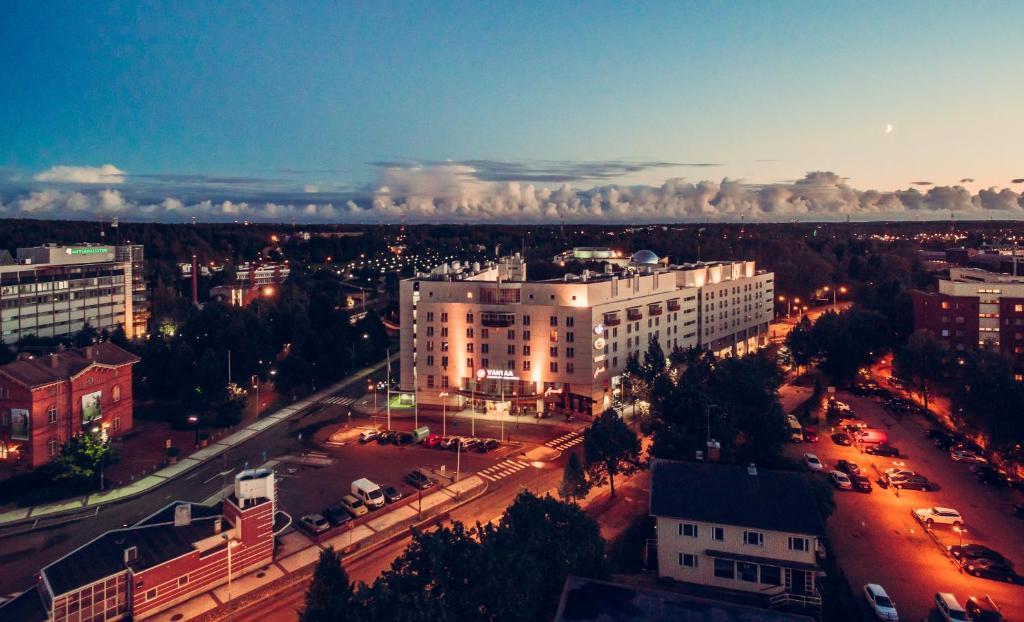A bird's-eye view of Original Sokos Hotel Vantaa