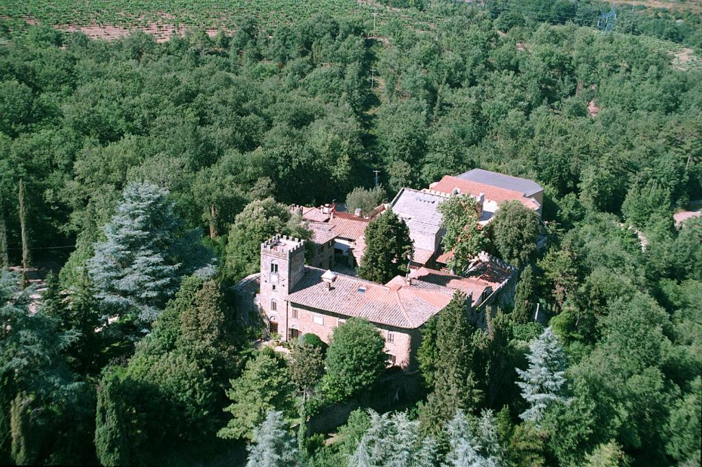 A bird's-eye view of Agriturismo Castello Di Querceto