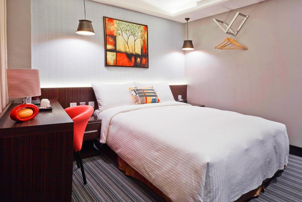 V One Hotel Ningxia No 2 Inn Taipei Taiwan Booking Com