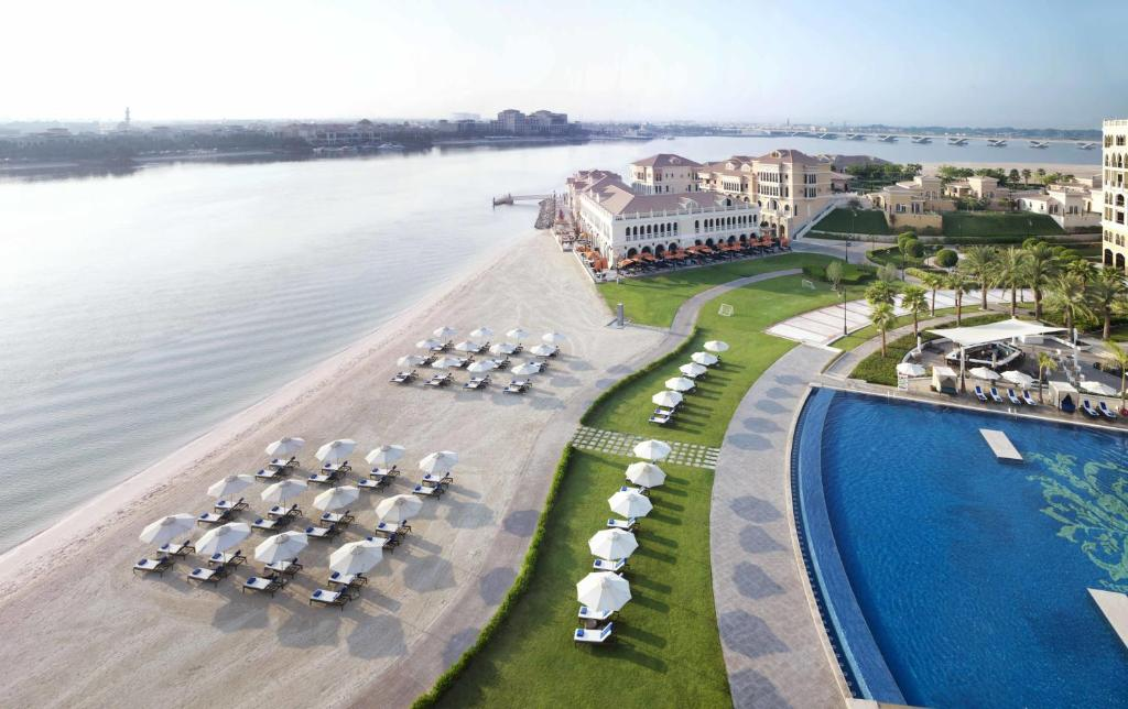 A view of the pool at The Ritz-Carlton Abu Dhabi, Grand Canal or nearby