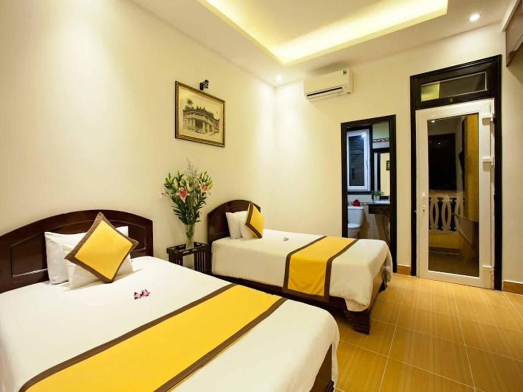 Phòng Deluxe Giường Đôi/2 Giường Đơn (Bao Gồm 30 Phút Dịch Vụ Spa)