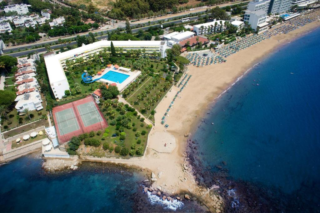 Een luchtfoto van Yalihan Aspendos - All Inclusive