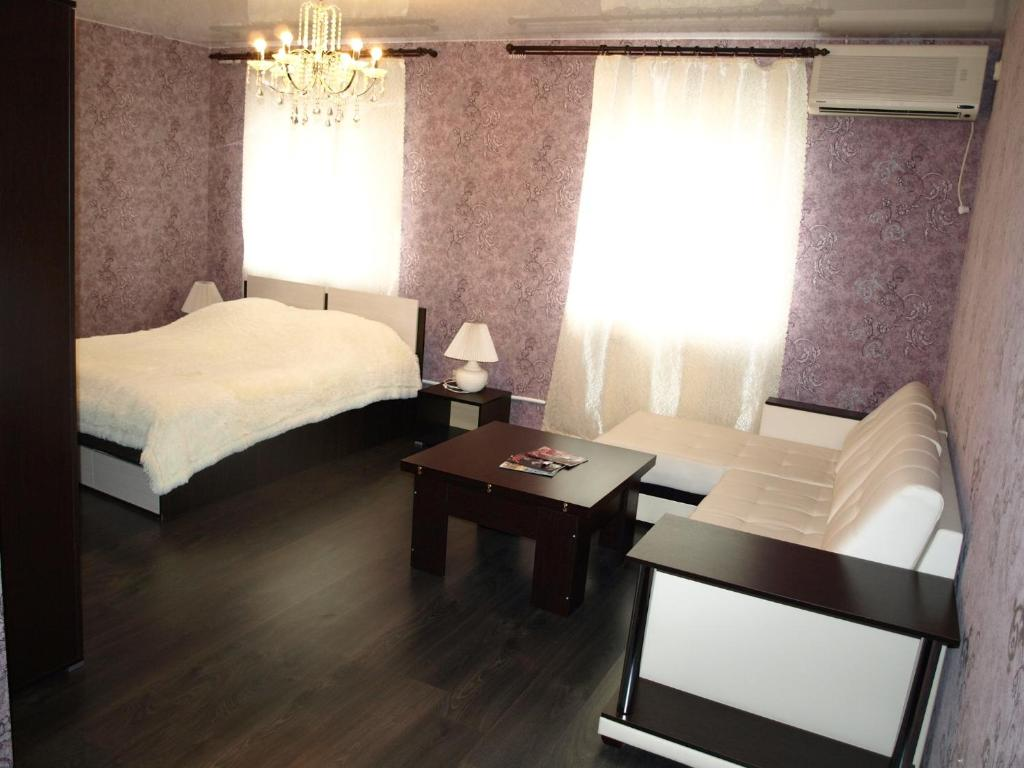 A bed or beds in a room at Motel Zebra