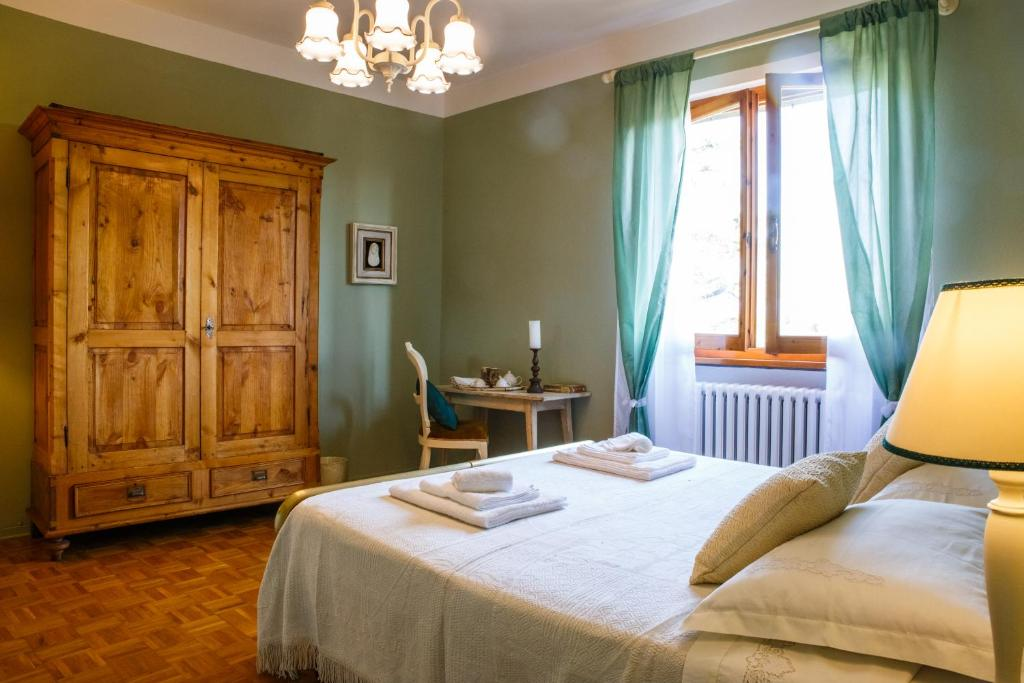 Cama o camas de una habitación en Casa Aloe B&B