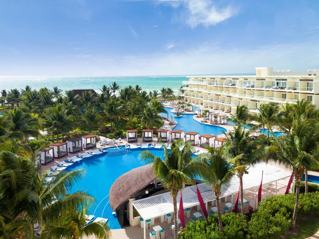A view of the pool at Azul Beach Resort Riviera Cancun, Gourmet All Inclusive by Karisma or nearby