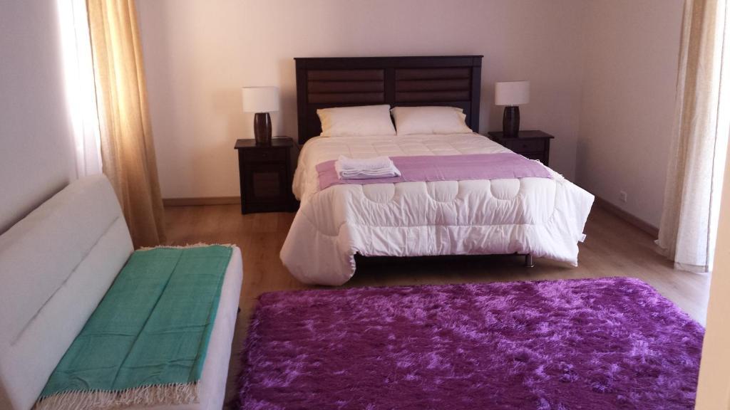 Cama o camas de una habitación en Hotel Smart Apart Bellas Artes