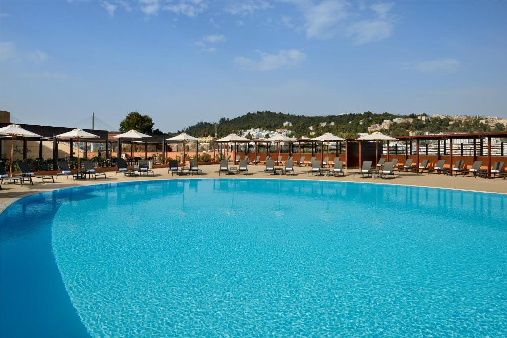 The swimming pool at or near Constantine Marriott Hotel