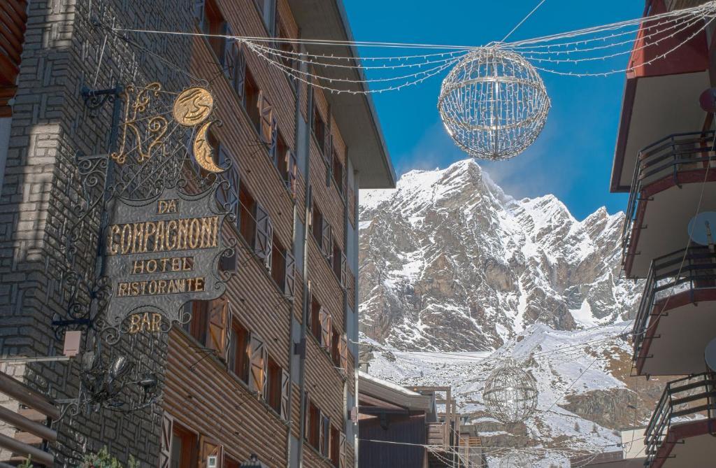 Hotel Da Compagnoni зимой