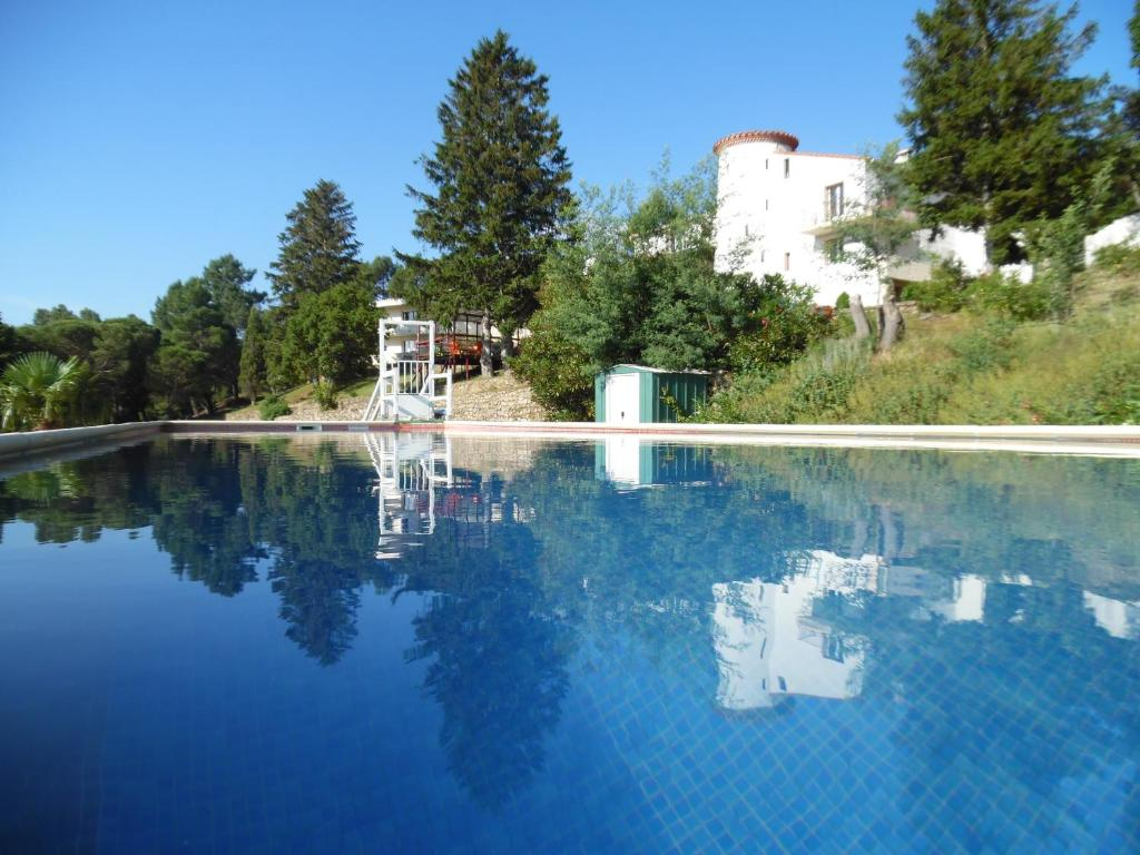 The swimming pool at or near Mas Pauline