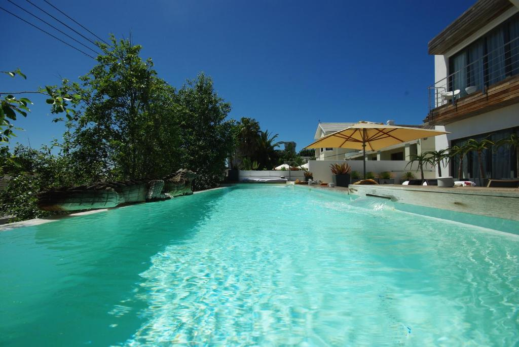 The swimming pool at or close to DysArt Boutique Hotel