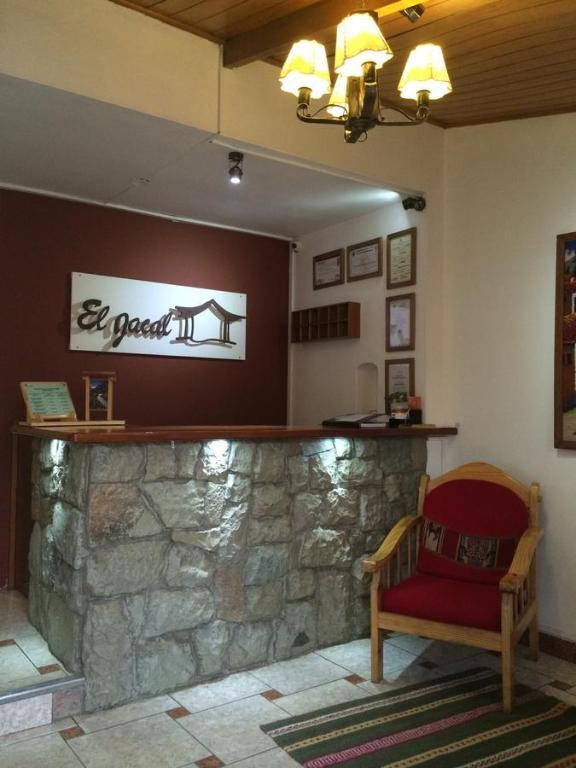Area lobi atau resepsionis di El Jacal Classic