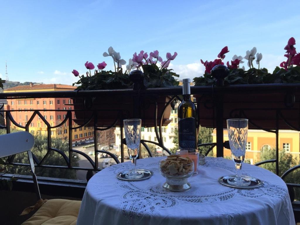 A balcony or terrace at Donna Ilaria